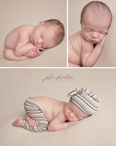 Curly cute gloucester ma newborn photography
