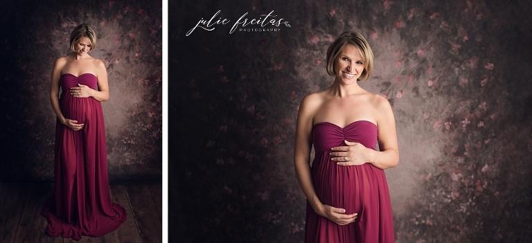 boston studio maternity photos